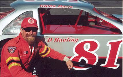 Glenn Davis driver of the #81 modified