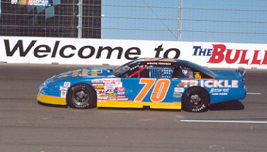 Chuck Trickle drives the #70 Star Nursery  car